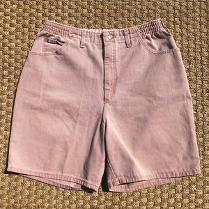 LEE Vintage High Waist Denim Mom Jean Shorts
